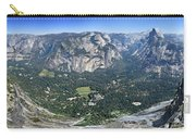 Glacier Point Panorama - Yosemite Valley Carry-all Pouch