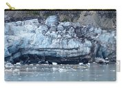 Glacier With Kayakers Carry-all Pouch