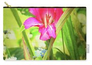 Gladioli Byzantinus Textured Carry-all Pouch