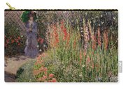 Gladioli Carry-all Pouch by Claude Monet