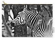 Glamorous In Black And White Carry-all Pouch