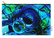 Glass Abstract 226 Carry-all Pouch by Sarah Loft