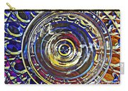 Glass Abstract 587 Carry-all Pouch