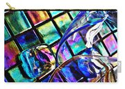Glass Abstract 696 Carry-all Pouch