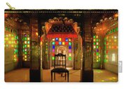 Glass And Mirror Room City Palace Udaipur Carry-all Pouch