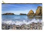 Glass Beach, Fort Bragg California Carry-all Pouch