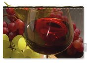 Red And White Wine Carry-all Pouch