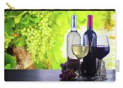 Enjoying Wine Carry-all Pouch