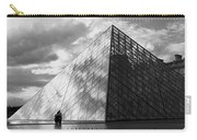 Glass Pyramid. Louvre. Paris.  Carry-all Pouch