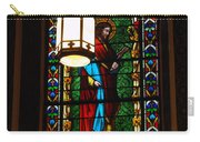 Glass Window Of Saint Philip In The Basilica In Santa Fe  Carry-all Pouch