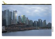 Gleaming Cityscape. Vancouver At Dawn  Carry-all Pouch