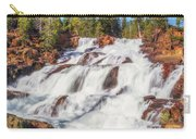 Glen Alpine Falls In Early Morning Light Carry-all Pouch