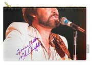 Glen Campbell Autographed Poster Carry-all Pouch