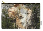 Glen Spring At Mammoth Hot Springs Upper Terraces Carry-all Pouch