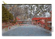 Glenwood Springs Hot Springs In Winter Carry-all Pouch