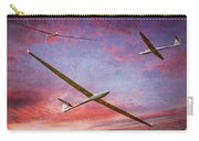 Gliders Over The Devil's Dyke At Sunset Carry-all Pouch