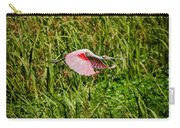 Gliding Spoonbill In Bayou Carry-all Pouch