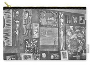 Glimpses Of Where Art Lives 4 Carry-all Pouch