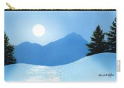 Glistening Snow Carry-all Pouch