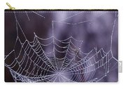 Glistening Web Carry-all Pouch