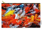 Glittering Of Koi Carry-all Pouch