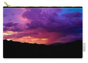 Globe Sunset Carry-all Pouch