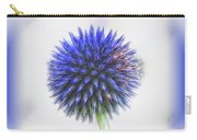 Globe Thistle With Vignette Carry-all Pouch