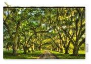 Glorious Entrance Tomotley Plantation South Carolina  Carry-all Pouch