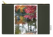 Glorious Fall Colors Reflection With Border Carry-all Pouch