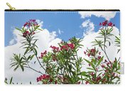 Glorious Fragrant Oleanders Reaching For The Sky Carry-all Pouch