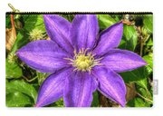Glorious Glowing Clematis Carry-all Pouch