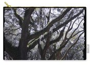 Glorious Live Oaks With Framing Carry-all Pouch