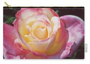 Glorious Pink Rose Carry-all Pouch