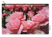 Glorious Pink Roses Carry-all Pouch