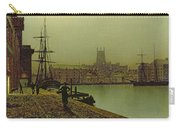 Gloucester Docks Carry-all Pouch by John Atkinson Grimshaw