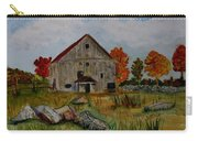 Glover Barn In Autumn Carry-all Pouch