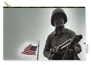 Glow Of Patriotism Carry-all Pouch