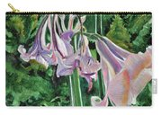 Glowing Amaryllis Carry-all Pouch