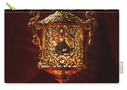 Glowing Antique Lantern Carry-all Pouch