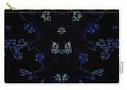Glowing Blue Blossoms Carry-all Pouch