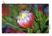 Glowing Bromeliad Bud Carry-all Pouch