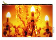 Glowing Chandelier Carry-all Pouch