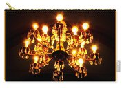 Glowing Chandelier With Border Carry-all Pouch