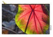 Glowing Coladium Leaf Carry-all Pouch