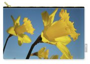 Glowing Daffodil Flowers Floral Art Baslee Troutman Carry-all Pouch