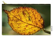 Glowing Fall Leaf Carry-all Pouch