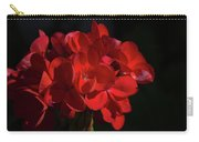 Glowing Flower In The Dark Carry-all Pouch