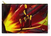 Glowing Flower Power Carry-all Pouch