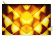 Glowing Honeycomb Carry-all Pouch