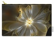 Glowing In Silver And Gold Carry-all Pouch